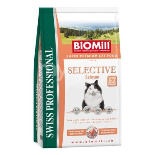 kassitoit Biomill SELECTIVE lõhega