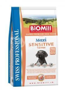 Koeratoit Biomill Maxi SENSITIVE lõhega