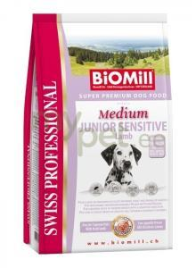 Koeratoit Biomill Medium JUNIOR SENSITIVE Lambaga