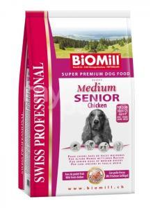 Koeratoit Biomill Medium SENIOR kanaga