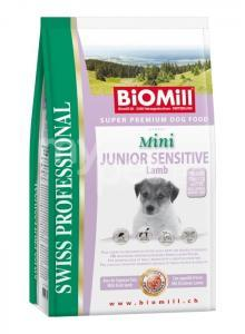 koeratoit Biomill Mini JUNIOR SENSITIVE lambaga