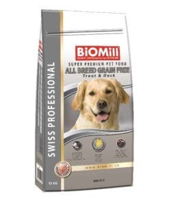 koeratoit biomill grain free forelli ja pardiga
