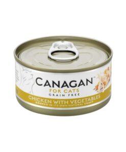 Kassikonserv Canagan kana ja köögiviljadega