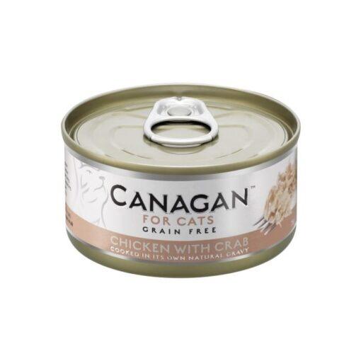 Kassikonserv Canagan kana ja krabilihaga