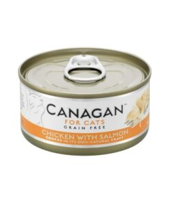 Kassikonserv Canagan kana ja lõhega
