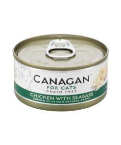Kassikonserv Canagan kana ja meriahvenaga
