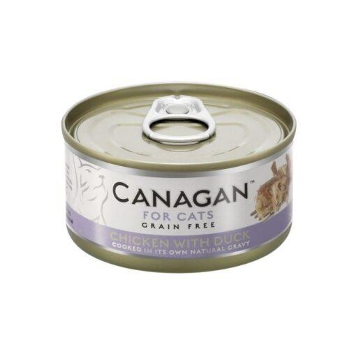Kassikonserv Canagan kana ja pardiga