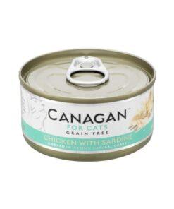 Kassikonserv Canagan kana ja sardiiniga