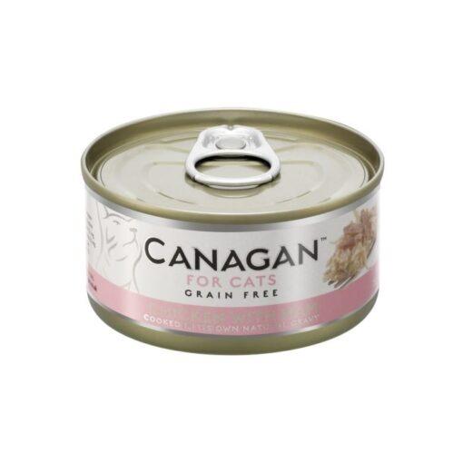 Kassikonserv Canagan kana ja singiga