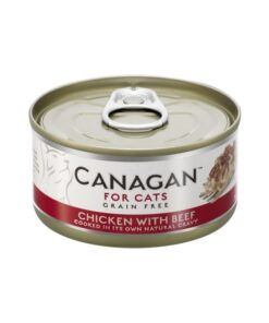 Kassikonserv Canagan kana ja veisega