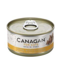Kassikonserv Canagan tuunikala ja kanaga