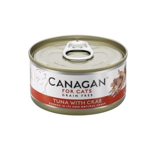 Kassikonserv Canagan tuunikala ja krabilihaga