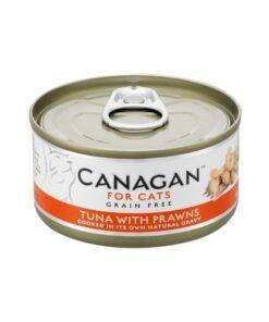 Kassikonserv Canagan tuunikala ja krevettidega