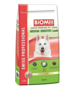 koeratoit Biomill Medium SENSITIVE Lamb 12 kg