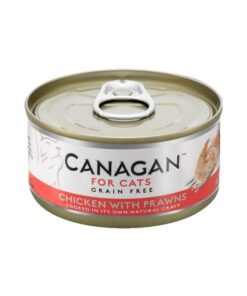 Kassikonserv Canagan kana ja krevettidega