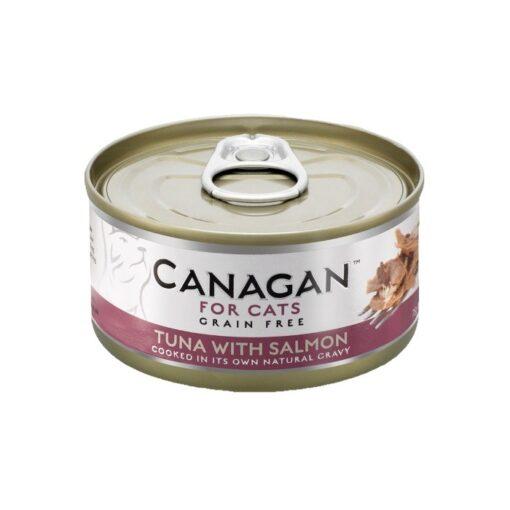 Kassikonserv Canagan tuunikala ja lõhega