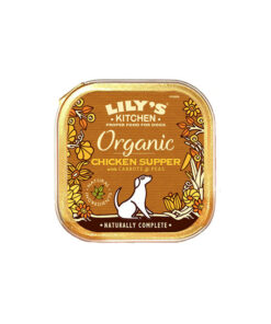 Lily's Kitchen ökoloogiline täistoit koertele kanaliha ja köögiviljadega