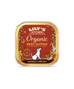 Lily's Kitchen ökoloogiline täistoit koertele loomaliha ja köögiviljadega
