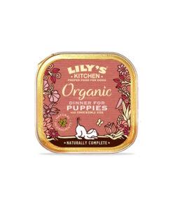 Lily's Kitchen ökoloogiline täistoit kutsikatele liha ja köögiviljadega
