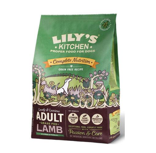 Lily's Kitchen kuivtoit koertele lambaliha ja köögiviljadega