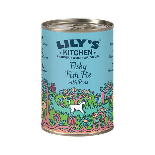Lily's Kitchen täistoit koertele kala-ja kalkuniroog köögiviljadega