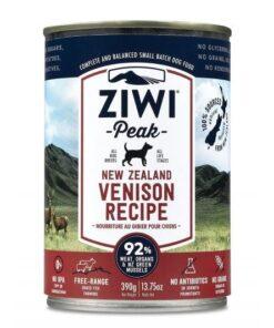 Ziwipeak konserv koertele Uus-Meremaa hirv