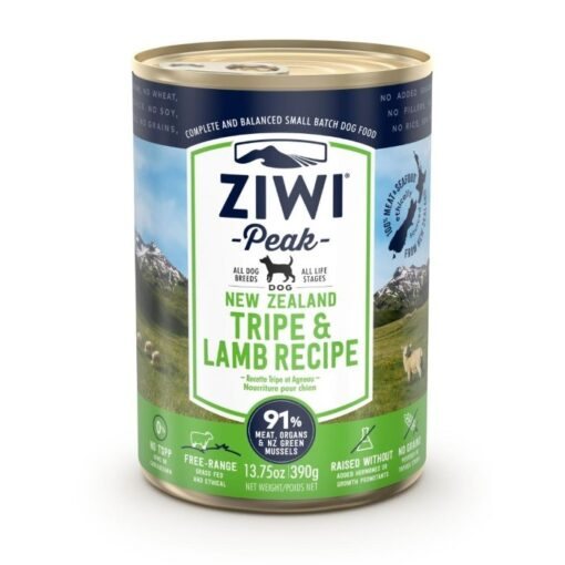Ziwipeak konserv koertele Uus-Meremaa lambamagu ja lammas
