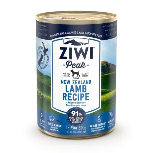 Ziwipeak konserv koertele Uus-Meremaa lammas
