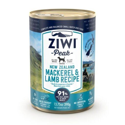 Ziwipeak konserv koertele Uus-Meremaa makrell ja lammas