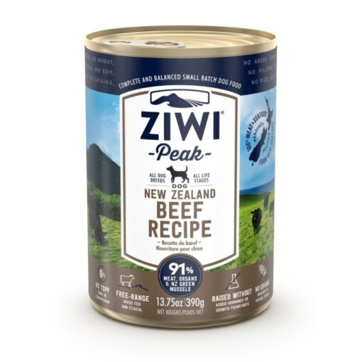 Ziwipeak konserv koertele Uus-Meremaa veis