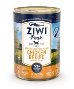 Ziwipeak konserv koertele vabakäigu kana