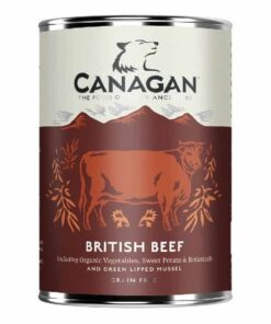 Canagan teraviljavaba konserv täiskasvanud koertele BRITI VEIS