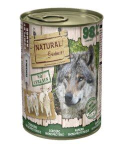 Natural Greatness monoproteiin konserv lambaga