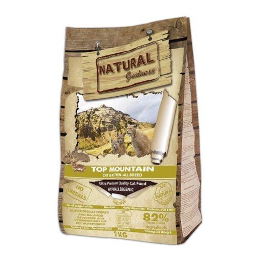 Natural Greatness teraviljavaba kasside kuivtoit Top Mountain