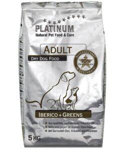 Platinum kuivtoit täiskasvanud koertele Ibeeria sealihaga