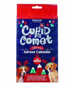 Rosewood Cupid & Comet luksuslik advendikalender koertele