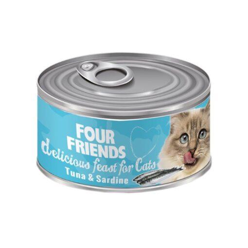 FourFriends kassikonserv Tuunikala & Sardiin