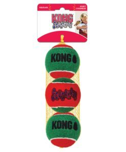 oerte mänguasi Kong Holiday SqueakAir pallid 3 tk