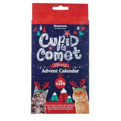 Rosewood Cupid & Comet luksuslik advendikalender kassidele
