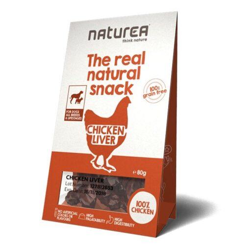 Naturea The real natural snack maius koertele kana maksast
