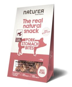 Naturea The real natural snack maius koertele sea vatsast