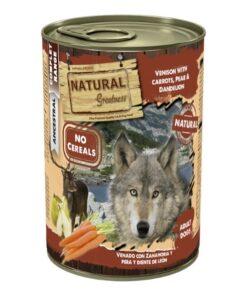 Natural Greatness teraviljavaba konserv koertele HIRV porgandi, pirni ja võilillega