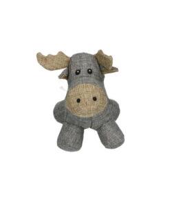 Pehme piuksuga koerte mänguasi Country Dog Moose
